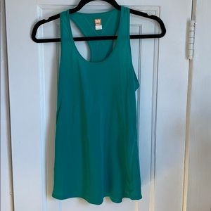 Lucy S Teal Racerback Tank